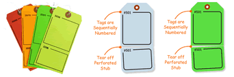 2-Part Blank Tags
