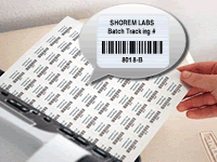 Print Inventory Barcodes Yourself