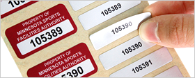 Multi-Part Asset Labels