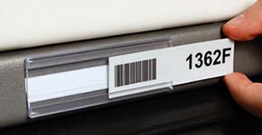 Barcode Label Holders - Plastic