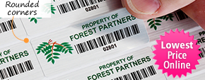 Plastic Barcode Labels