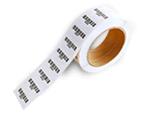 Preprinted barcode labels
