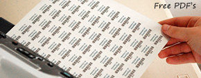 Print Your Own Barcode Labels