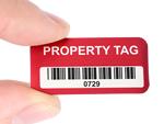 Stock Metal Property ID Tags