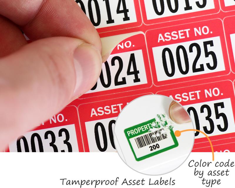 Tamperproof Asset Labels