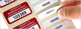 Multi-Part Asset Labels
