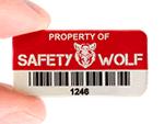 Custom Metal Property ID Tags