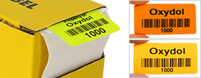 Paper barcode labels