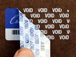 Premium Tamperproof Labels