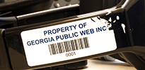 Tamperproof barcode labels