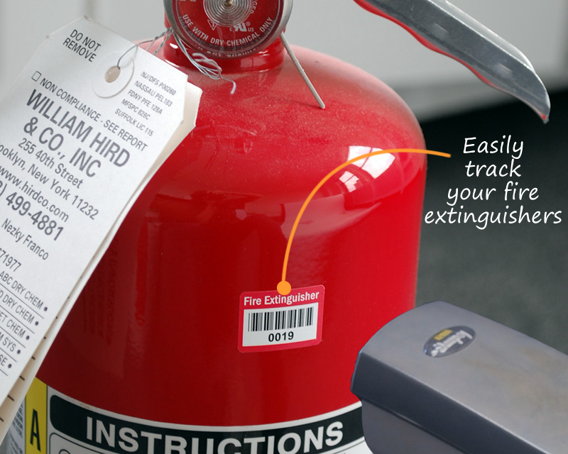 Fire Department Barcode Labels