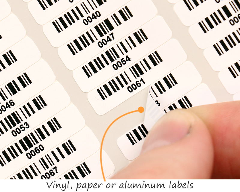 Tiny Barcode Labels Myassettag Com