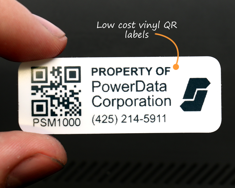 qr asset tags  u0026 asset labels