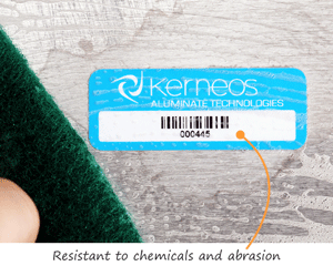 Chemical resistant asset labels