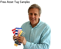 Free asset tag samples