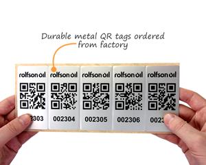 Metal QR Tags