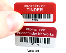 What are asset tags?