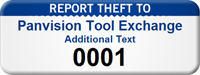 Custom Report Theft To Asset Tag with Numbering