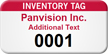 Custom Inventory Numbered Label