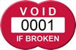 Customizable Void If Broken Seal Tag