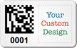 Design SunGuard 2D Barcode Logo Asset Tags
