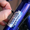BikeGuard™ Asset Tags were designed for ease of use in tagging bikes for rental