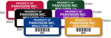 Add a Title to your Asset Tag or Asset Label