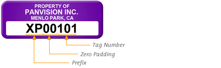 Add Sequential Numbers to Your Asset Tags
