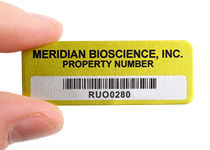 Anodized Metal Tags for Labs