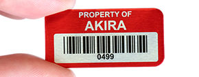Asset tracking barcodes