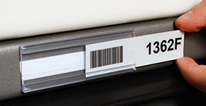 Barcode Label Holders - Plastic