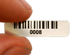 Tiny Barcode Labels