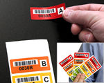 Multicolored / Multipart Labels