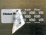 Economy Tamperproof Labels