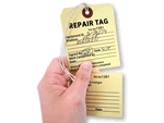 Carbonless Numbered Hang Tags