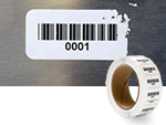 In-Stock Security Barcode Rolls