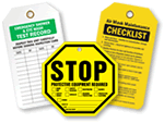 Defective Equipment & Equipment Inspection Tags