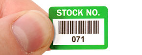 Inventory Barcode Labels