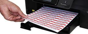 Laser Printable Asset Labels