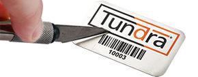 Metal Barcode Labels