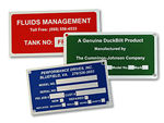 Metal Equipment Nameplates