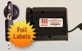 FoilGuard® Metal Asset Label