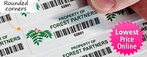 Plastic Barcode Labels