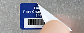 Removable Barcode Labels