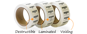 Rolls of Preprinted Plastic Barcodes