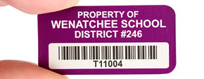 School Asset Labels & Tags