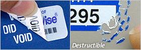 Tamper-Evident Asset Labels