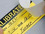 Self-Laminating Calibration Labels