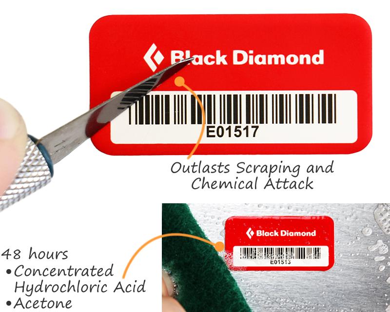 hydrobromic acid label custom asset tags myassettagcom