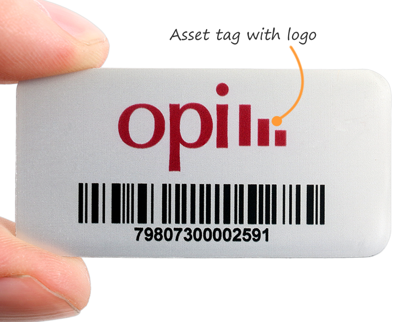 Oversized Asset Tags With Barcode Amp More Online